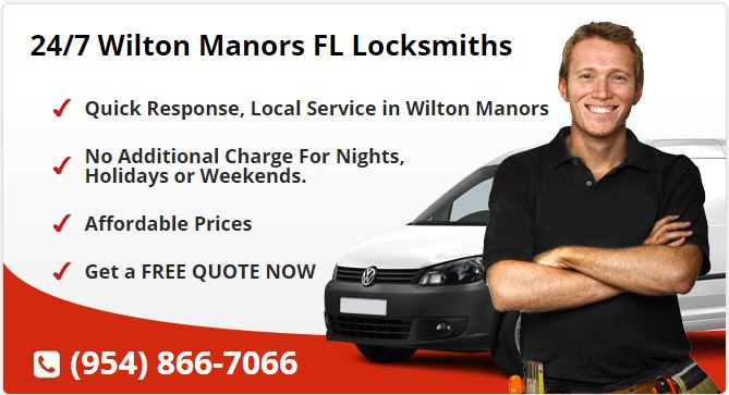 24 Hour Locksmith Wilton Manors FL